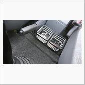 CAR MATE / カーメイト マッドスパイラルスクエア シルバー ドリンクホルダー / NZ238