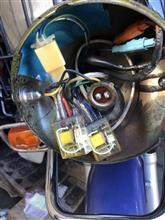 スーパーカブ110プロヤフオクのLED PH7型 LEDの全体画像
