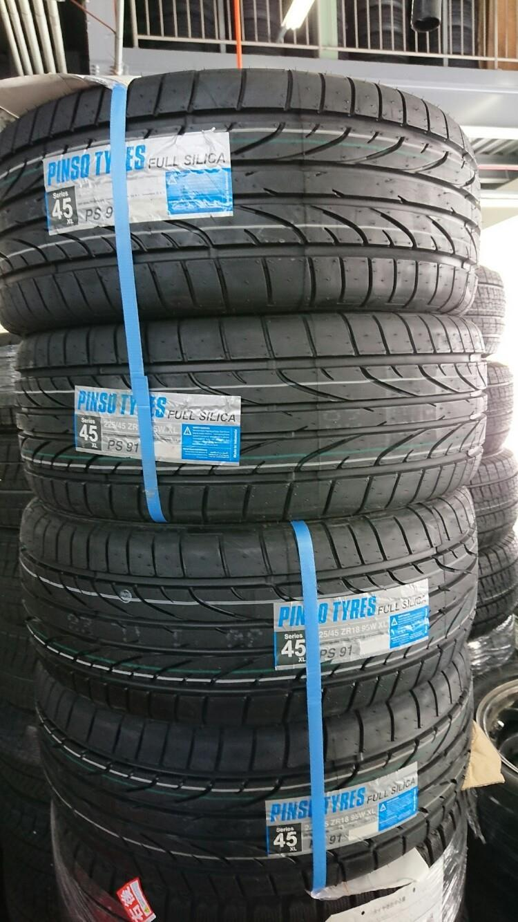 インドネシアタイヤメーカー Pinso Tyres PS-91 225/45R18