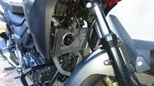 V-Strom 250ヨシムラジャパン ラジエーターグリルの単体画像