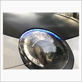 ユアーズ シーケンシャルウインカー 機能付き LEDテープ シリコンタイプ [ ライトブルー/流れるアンバー ]
