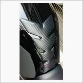 PRINT タンクパッド(カーボン型押し/艶消し)