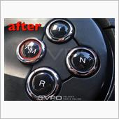 VPO MTA AUTOMATIC GEARBOX BUTTONS COVER UP STICKERS FOR ABARTH 595