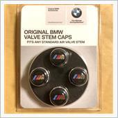 BMW(純正) エアバルブキャップ ブラックタイプ北米限定
