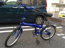 折りたたみ自転車Jupiter Electronics 自転車用ライトの全体画像