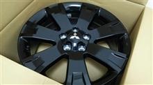 エクリプスクロス三菱自動車(純正) デリカD5 アクティブギア ブラックアルミホイールの単体画像