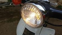 スーパーカブ50デラックスメーカー・ブランド不明 ヘッドライトレンズ スーパーカブ用の単体画像