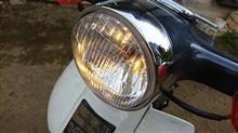スーパーカブ50デラックスメーカー・ブランド不明 ヘッドライトレンズ スーパーカブ用の全体画像