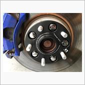 ヴァージンウルフ634 ベンツ/アウディ/VW PCD変換スペーサーTypeG/厚み15mm 5穴PCD112→114.3/装着ボルト付属 634製