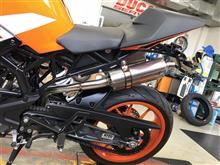 RC250ヤマモトレーシング RC390 SUS TWINの全体画像