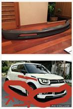 イグニスインドネシア直輸入 イグニス リップスポイラーの全体画像