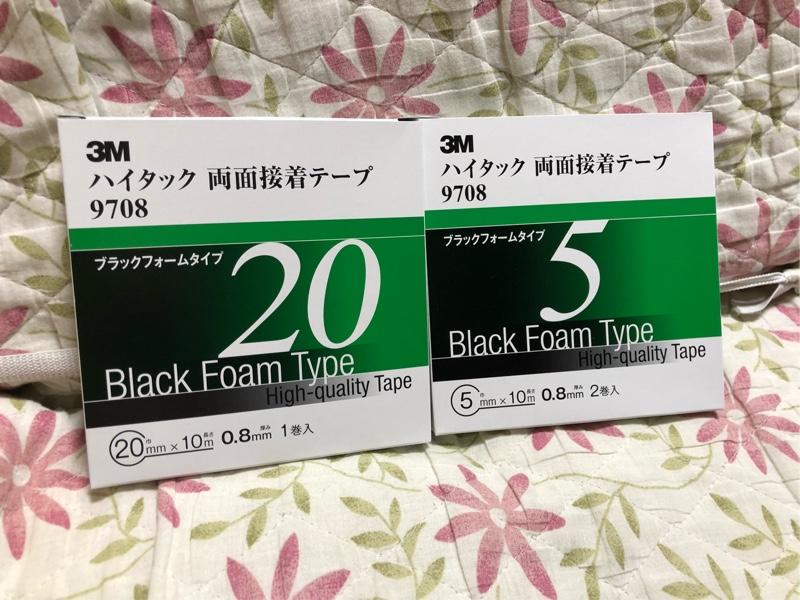 3M / スリーエム ジャパン ハイタック両面接着テープ 9708