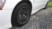 ランサーエボリューションVIII三菱自動車(純正) ランサーエボリューションⅨ純正オプション BBSホイールの全体画像