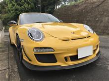 911 (クーペ)ポルシェ(純正) 997GT3RS4.0 フロントリップスポイラーの全体画像