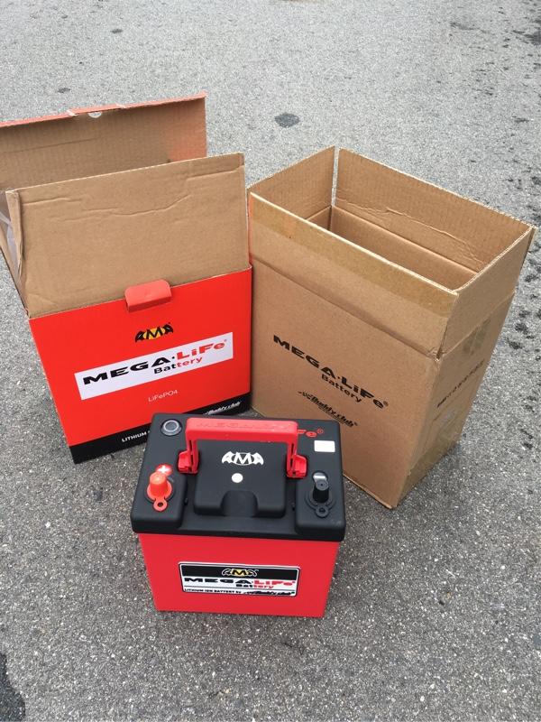 MEGA・LiFe Battery MV-19R