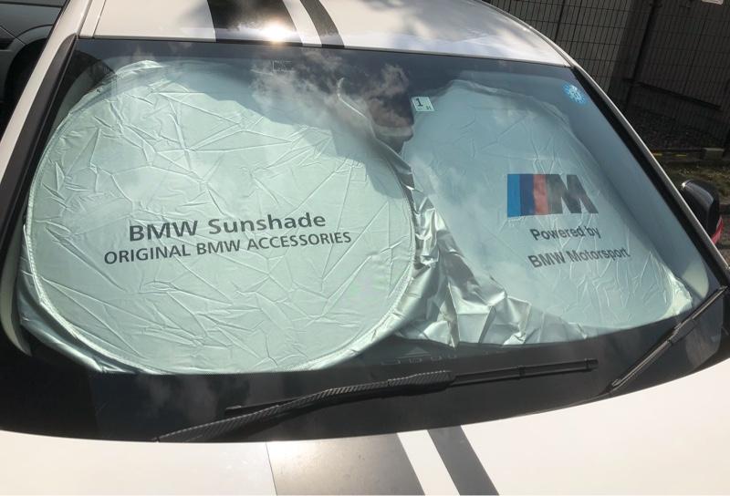 メーカー・ブランド不明 BMW Mロゴ サンシェード