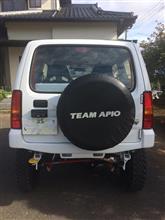 ジムニーAPIO タクティカルフロントバンパーガーニッシュの全体画像