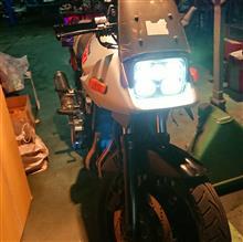GSX400S KATANA (カタナ)汎用 プロジェクターヘッドライトの単体画像