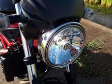 SV650ABS中華製 LEDヘッドライト H4Hi/Lo の全体画像