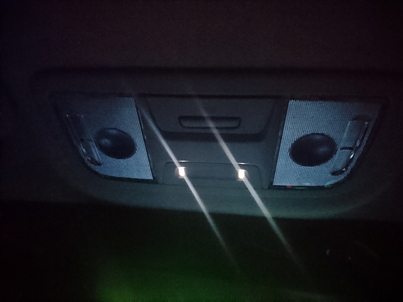 Honda Access LEDダウンライト