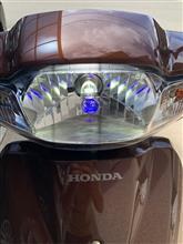 タクト・ベーシック海外製 LEDヘッドランプH4/HS1の全体画像