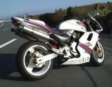 ホーネット250ヤマモトレーシング スリップオンマフラーの全体画像