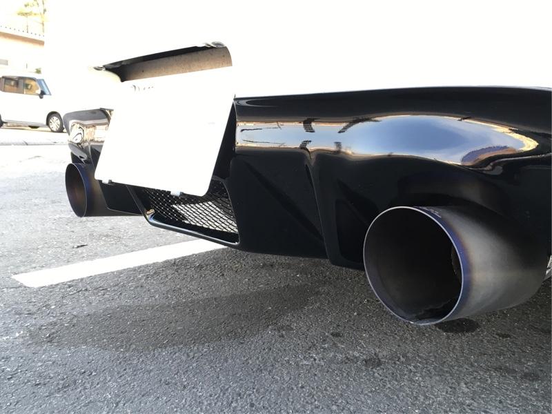 AUTO KITS X V2 ディフューザー/カーボンデュフェーザー