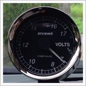 PIVOT CYBER GAUGE 電圧計 (COV)