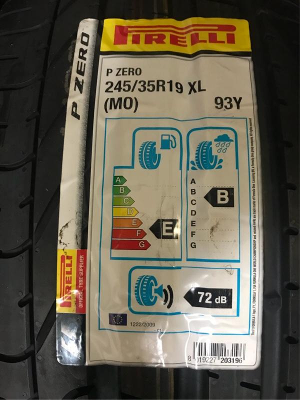 PIRELLI PZero 245/35R19