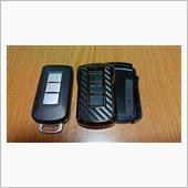CAR MATE / カーメイト キーカバー ミツビシ用A カーボン調メッキ / DZ292