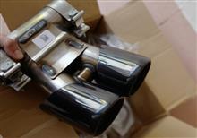 718 ケイマンポルシェ(純正) スポーツテールパイプの全体画像