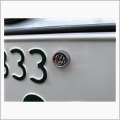maniacs VWライセンスプレートスタッド