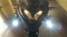 VERSYS-X 250 ABS TOURER不明 クチバシの全体画像