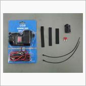 メーカー・ブランド不明 電源シガーソケット+USB×2
