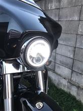 ストリートグライドボスキー LEDヘッドライトの単体画像