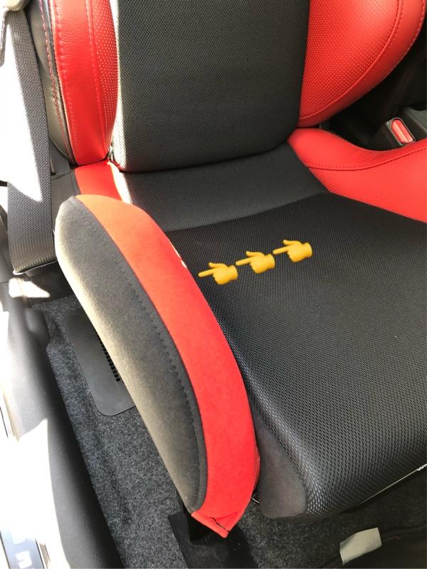 7-wood レカロシート用シートサイドカバー