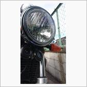メーカー・ブランド不明 ヤマハ用 8インチヘッドライトマルチリフレクター