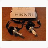 光トレーディング 30w LEDヘッドライト Hi/Lo H4 5500k