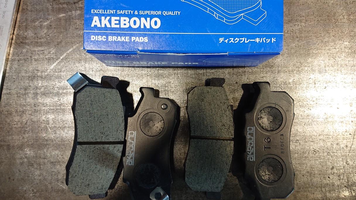 akebono ディスクブレーキパッド