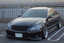クラウンアスリートDTEC / KANAGAWA TOYOTA MOTOR SALES フロントビレットグリルの全体画像
