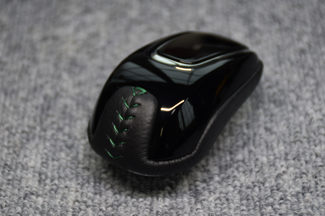 Leather Custom FIRST ジェイドH/V用セレクトノブ本革巻き加工