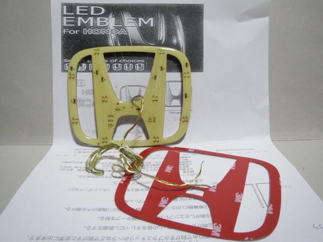 ヤフオク! LED光るエンブレムプレート(グリーン)