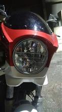 RZ250Rメーカー不明 ヘッドライトの単体画像
