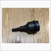 TONE TOOL / 前田金属工業 インパクト用ソケット 12.7sq ヘックス 6mm