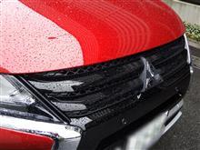 エクリプスクロス北米三菱自動車(純正) フロントグリル(ブラック)の単体画像