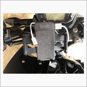 バルサ堂 バイク用 スマホホルダー USB 電源 ON/OFFスイッチ 付属