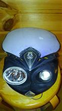 XR250 モタードアチェルビス サイクロップヘッドライトの単体画像