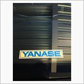 YANASE 本物のステッカー