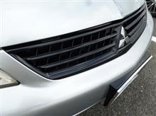 ランサー三菱自動車(純正) 標準タイプフロントグリル(自家再塗装品)の全体画像