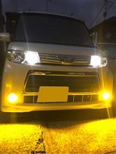 LED デュアルカラーフォグランプバルブ 50DFLB
